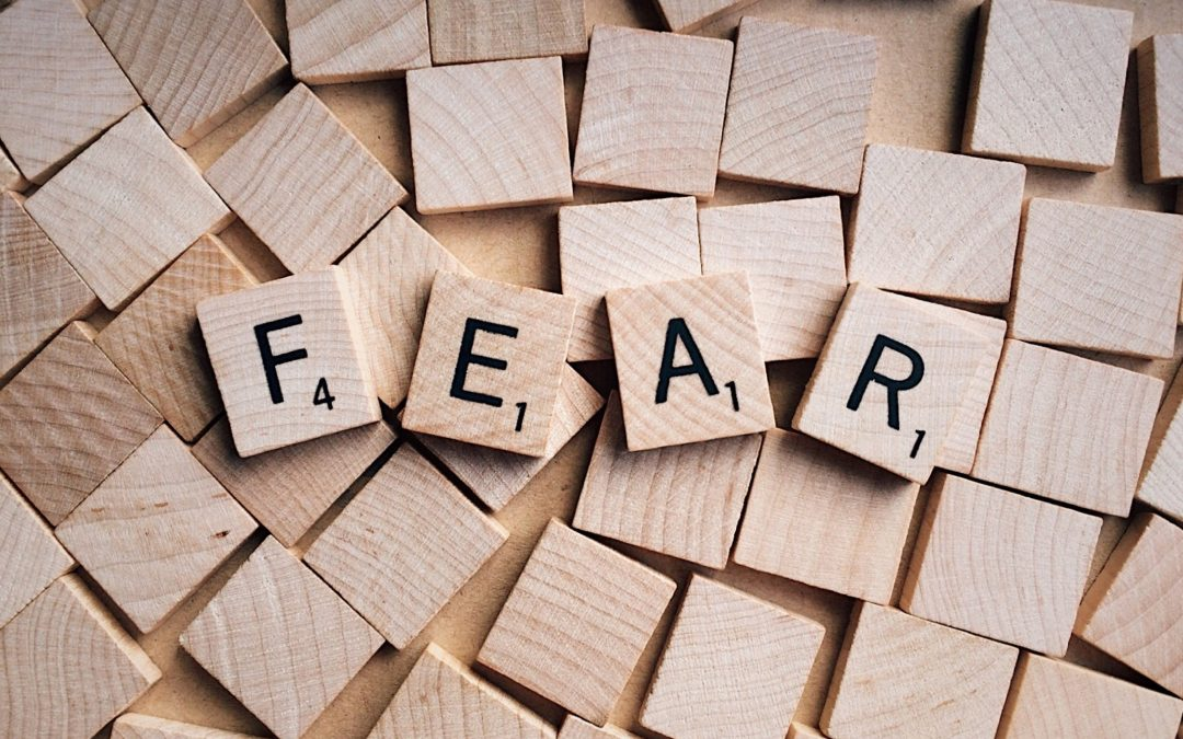 FEAR: what am I afraid of?